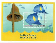 MODERN GEMS - Maldives - Indian Ocean Marine Life Angelfish - S/S - MNH