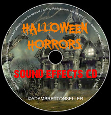 HALLOWEEN HORRORS SOUND EFFECTS CD - SCARY PARTY SPOOKY KIDS