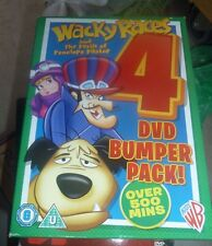Wacky Races Boxset 2012 DVD Region 2 in Excellent Condition Over 500 Hours