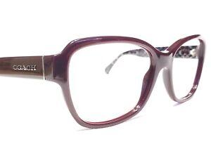 Coach HC8232 550913 Womens Oxblood Oversized Rx Designer Sunglasses Frames 56/17
