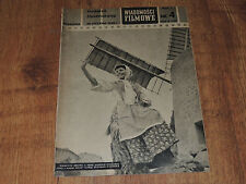 Wiadomości Filmowe 4/1958 polish magazine Pierette Bruno, John Gielgud, M Carol