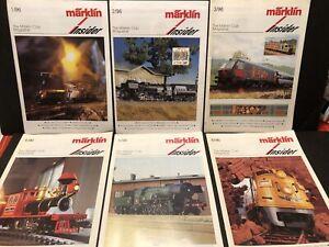 1996 THE MARKLIN CLUB MAGAZINE INSIDER 6 ENGLISH ISSUES MODEL TRAINS RAILROAD