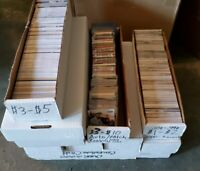 Huge sports card collection - 10  boxes - Great Value - Football/Bball/Baseball