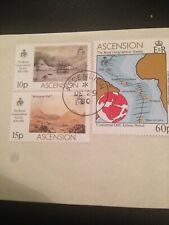 ASCENSION 1980 USED SG274-76 150th Anniversary of Royal Geographical Society