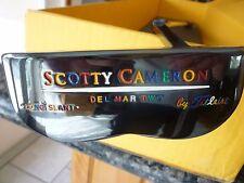 SCOTTY CAMERON TITLEIST PUTTER CUSTOM SHOP DEL MAR 2 TEI3 FRUITLOOP LETTERING