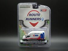 2021 GREENLIGHT 2019 FORD TRANSIT AMR AMBULANCE ROUTE RUNNERS SERIES 3