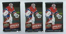 2015-16 UD Series 1 Upper Deck Hockey 3 Pack Retail  8 Cards per Pack
