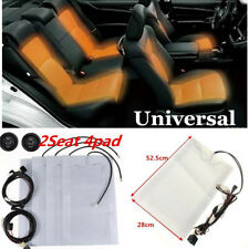 4 x Pads 2 Seats Install Universal High/Low Switch Seat Heater Heated Seat Kit