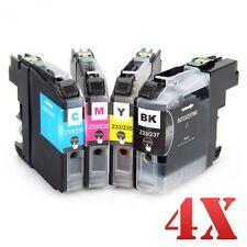 4x LC233 Ink Cartridges for Brother DCP-J4120DW MFC-J4620DW MFC-J5320DW J5720DW
