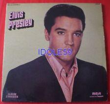 Disques vinyles 33 tours Elvis Presley avec compilation