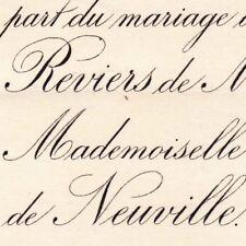Jacques Marie De Reviers De Mauny Bois-le-Roi 1881 De Rioult De Neuville
