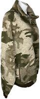 Cabelas Men XL Full Zip Camouflage Berber Hunt Fish Sportsman Fleece Jacket