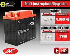 Upgrade Yuasa Yumicron YB14L-A2 to LITHIUM 166% more Cranking & 3.6 kg less