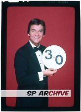 "1980s Original 4x5 Transparency Host DICK CLARK ""AMERICAN BANDSTAND"" BLOOPERS 01"