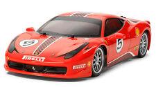 Tamiya Ferrari 458 Challenge 1 10 Tt-02 Kit #58560
