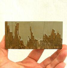 Pietra Paesina Italian Landscape Ruin Marble Slice Polished 88g 11.5cm A Grade