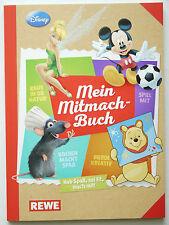 Rewe Meine Mitmach-Sticker Mein Mitmachbuch alle 180 Sticker lose + Sammelalbum