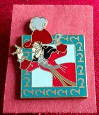 Captain Hook - Villain - Peter Pan - 2005 Disney Lapel Official Pin Trading