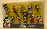 Disney Mickey The True Original 90 Years of Magic Deluxe Figure Set 10pcs, NEW