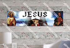 Personalized/Customized Jesus God Name Poster Wall Art Decoration Banner