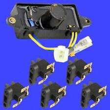 Square Voltage Regulator AVR & 5 Carbon Brush for 2kw 3kw 4kw AVR Gas Generator