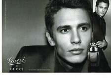 PUBLICITE ADVERTISING 025  2008  GUCCI by GUCCI  parfum homme ( 2pages)