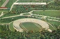 New Orleans LA City Park Stadium~1940s Postcard