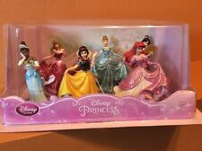 Disney Princess Figure Play Set Cake Topper Cinderalla Snow White Mulan Aurora
