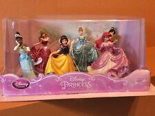 Disney Princess Figure Play Set Cake Topper Cinderalla Snow White Mulan Aurora