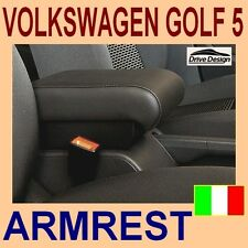 VOLKSWAGEN GOLF 5 - armrest with large storage - High QUALITY - made in Italy-@@
