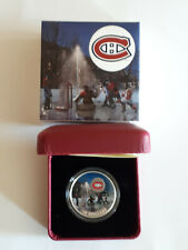 2017 Montreal Canadiens $10 Passion to Play  coin in box & coa's