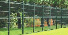 Zaun Gartenzaun 3D Zaun Einstabmattenzaun inkl Pfosten Grün -Anthrazit