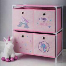 KIDDI style princesse en bois enfants Sling Bookshelf Toy Box poitrine de conservation