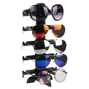 5 Layers Glasses Eyeglasses Sunglasses Show Stand Holder Frame Display Rack JY