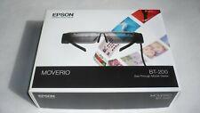 Occhiali a Realtà Aumentata Epson Moverio BT-200 EEB See-Throught Mobile Viewer