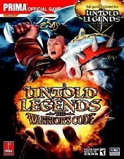 Untold Legends: Brotherhood of the Blade and The Warrior's Code (Prima Official