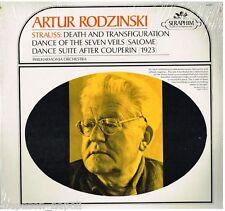 Strauss R.: Death And Trasnsfiguration (Morte e Trasfigurazione) Rodzinski - LP