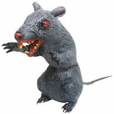 Scary Latex Sitting Rat Halloween Prop Rodent
