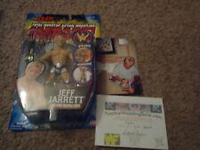 TNA SERIES 1 AUTOGRAPHED Jeff JARRETT NWA Champion IMPACT WRESTLING