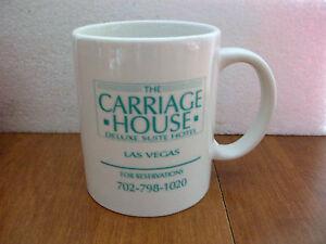 The Carriage House Las Vegas Large Ceramic Mug Cup Vintage   90's