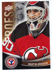 11-12 Upper Deck UD Martin Brodeur Heroes #15 NHCD National Hockey Card Day