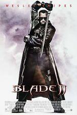 BLADE II (2002) ORIGINAL MOVIE POSTER  -  ROLLED