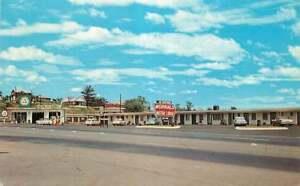 Roadside Postcard Morral's Motor Lodge & Gas Station, Breezewood, Pennsylvania