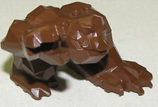 LEGO BROWN ROCK MONSTER ANIMAL FIGURE