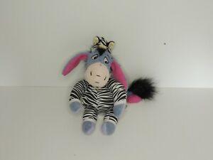 Disney Eyeore Zebra 23cm tall plush teddy