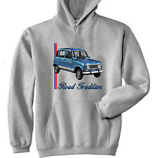 RENAULT 4L INSPIRED - GREY HOODIE - ALL SIZES IN STOCK