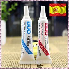 Pegamento para pestañas postizas color transparente negro false eyelashes glue