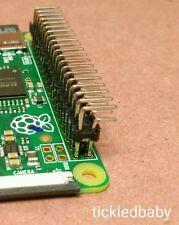 """40 Pin Header 90 Degree 2x20 Jumper .1"""" HAT Connector GPIO  Pi Zero  -Fast Ship-"""