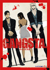 Gangsta Group Wall Scroll Poster with Red Border Anime Manga NEW