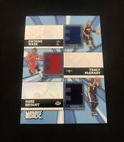 Kobe Bryant/Dwyane Wade/McGrady Topps Luxury Box Game-Used Jersey Patch #'d /250